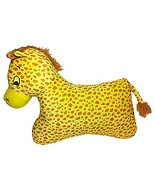 Soft Buddies Floor Pillow Yellow - Height 15 Inches