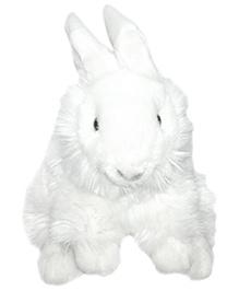 Soft Buddies Rabbit Soft Toy White - Height 10 Inches