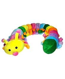 Soft Buddies New Caterpillar Big Soft Toy Multicolour - Height 5.6 Inches