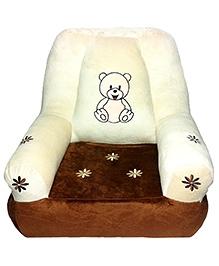 Soft Buddies Cushion Baby Chair Brown - Height 18 Inches