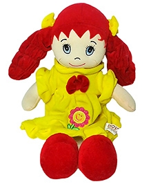 Soft Buddies My First Doll Red Medium - Height 16 Inches