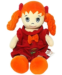Soft Buddies My First Doll Orange Medium - Height 16 Inches
