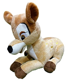 Soft Buddies Deer Soft Toy Brown - Height 9 Inches