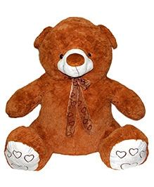 Soft Buddies Chocolaty Bear Soft Toy Brown - Height 32 Inches