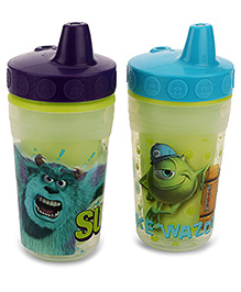 Disney International Monster Inc Insulated Sippy Cups Pack Of 2 - Blue And Purple