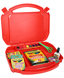Crayola Ultimate Art Supply Case Red - 85 Pieces