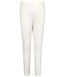 Simply Full Length Leggings - White