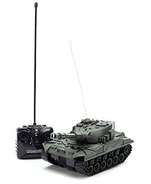 Classic Remote Controlled Tank 5892 - Grey