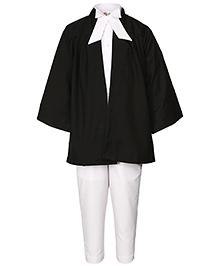 Gvavas Lawyer Fancy Dress Costume - Black And White