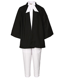 Gvavas Lawyer Fancy Dress Costume - Black And White