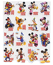 Mickey Mouse And Friends A4 Foam Sticker - Multicolour