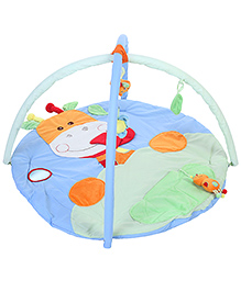 1st Step Round Shaped Play Mat - Blue And Green