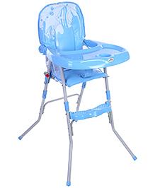1st Step High Chair Fish Print - Blue