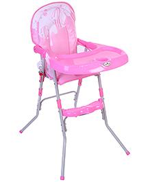 1st Step High Chair Fish Print - Pink