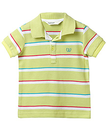 Beebay Stripper Polo T-Shirt - Green