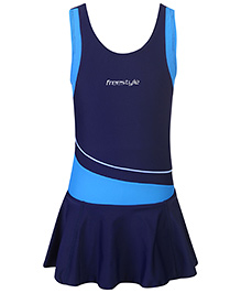 Freestyle OnePiece Frock Swimsuit - Blue
