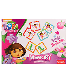 Funskool Dora Memory Game Multicolor - 72 Picture Cards