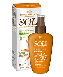 Bottega Di Lungavita Sol Leon Suntan Spray Special Baby SPF 50 - 150 Ml