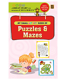 My First Small Activity Book of Puzzles And Mazes - English