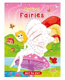 Art Factory Fairies Dot To Dot- Book With Sticker