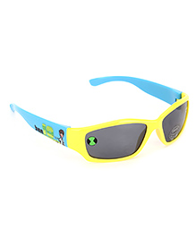 Ben 10 Kids Sunglasses UV 400 Protected - Yellow And Sky Blue