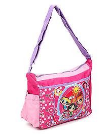 Powerpuff Girls Messenger Bag Pink - 10 Inches