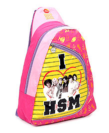 Disney Body Strap Sling Bag I Love HSM Print Pink - 16 Inches