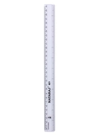 30 cm Scale 30 cm, Accurate measurements with bold markings