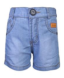 Little Kangaroos Denim Shorts Lilk Patch - Light Blue