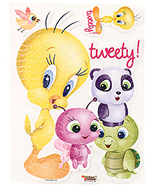 Tweety Puffy Stickers A4 Stickers - Multicolour