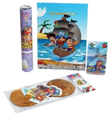 Birthday Party Accessory Kit Pirate Themed