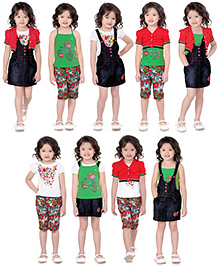 N-XT Multi Piece Clothing Set Pack Of 5 - Red