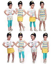 N-XT Multi Piece Clothing Set Of 5 - Multicolour