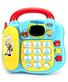 Mitashi Skykidz Learning Phone - Blue