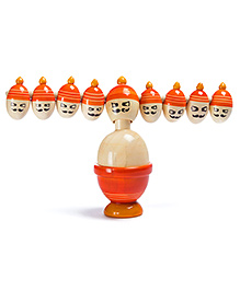 Oodees Balancing Toy Ravan - Orange