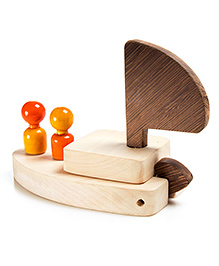 Oodees Wooden Oody Titanic - Orange