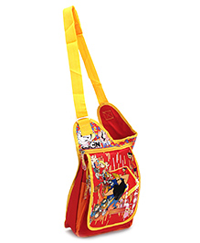 Disney Johnny Bravo Sling Bag Red - 12 Inches