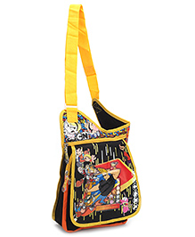 Disney Johnny Bravo Sling Bag Black - 12 Inches