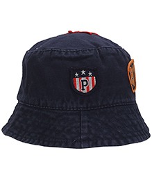 Babyhug Bucket Cap Embroidered Patch - Navy Blue