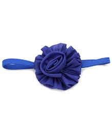 Stol'n Hairband Floral Applique - Blue