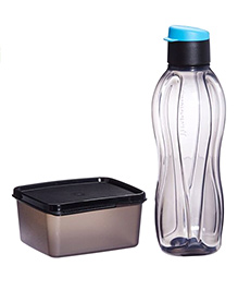 Tupperware Xtreme Set - Water Bottle And Lunch Box For Travellers