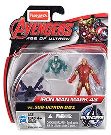 Avengers Iron Man Mark 43 Vs Sub-Ultron 001