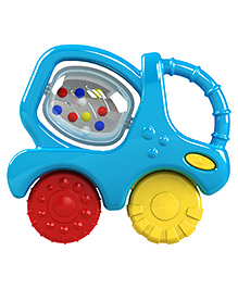 Funskool Mixer Truck Teether Rattle - Multi Color