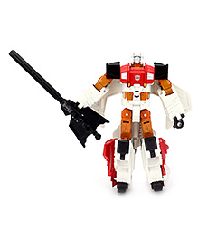 Transformers Combiner Wars Voyager Class Silverbolt Figure - White And Orange