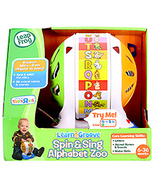 Leap Frog Learning & Groove Spin & Sing Alphabet Zoo