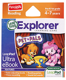 Leap Frog Explorer Learning Game Pet Pals