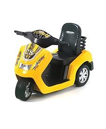 KinSmart Turbo Scooter- Yellow