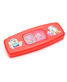 Pratap Pencil Box - Red