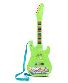 Prasid Mini Guitar With Mic - Green & Aqua