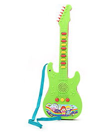 Prasid Mini Guitar - Green And Red